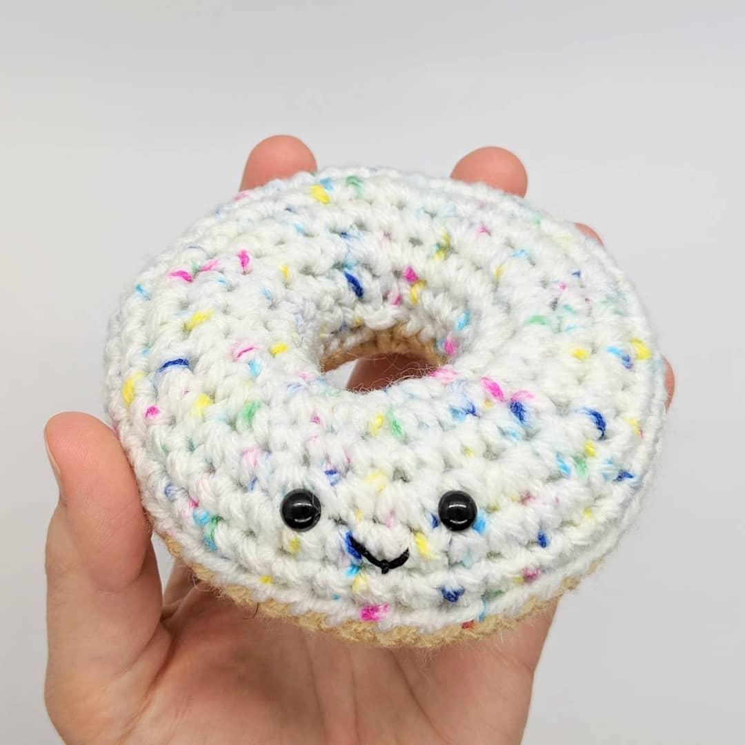 钩编食物的艺术-有意思吧