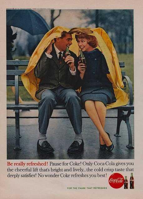 60年代的可口可乐广告图-有意思吧