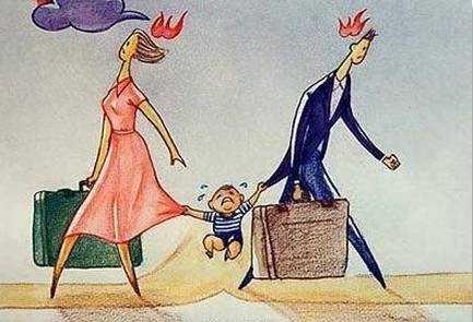 离婚的家庭